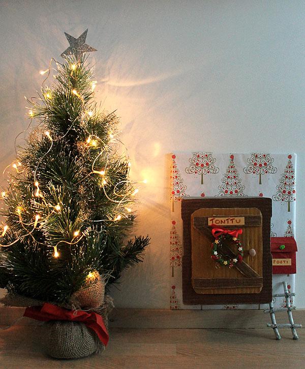 tonttuovi, jouluaskartelu
