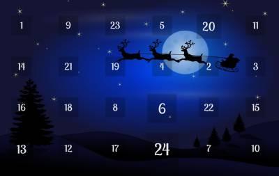 Joulukalenteri, Voimapuu