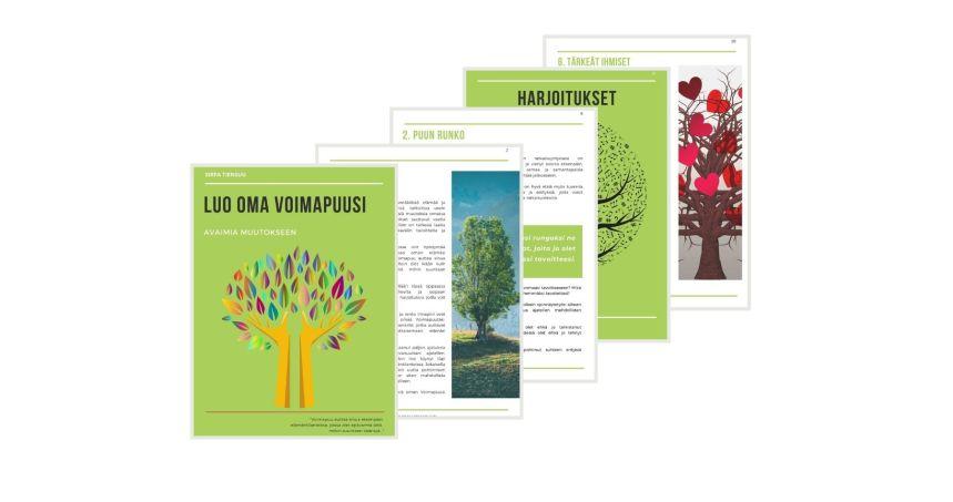 Luo oma Voimapuusi- avaimia muutokseen, e-kirja, Voimapuu