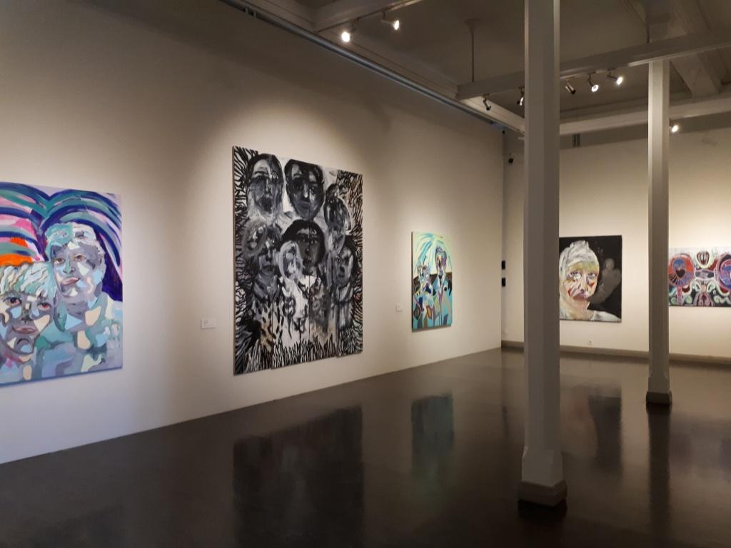 Henkien tarkkailijat - taidenäyttely (Camilla Vuorenmaa), Joensuun taidemuseo Onni