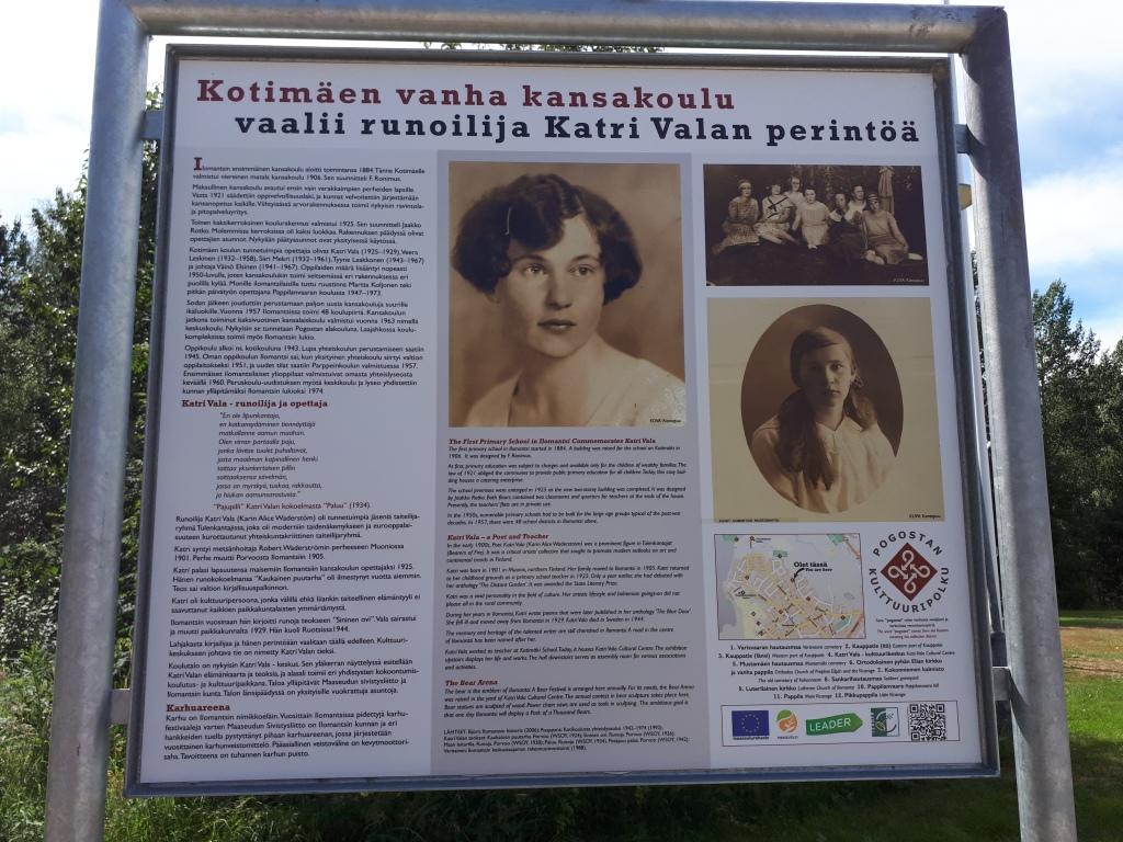 Katri Vala, info