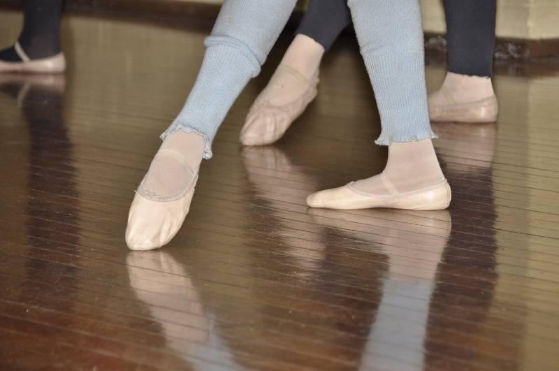 Pehmeät baletin harjoitustossut